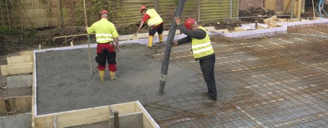 beton, betonozas